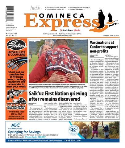 Vanderhoof Omineca Express/Stuart Nechako Advertiser, June 3, 2021