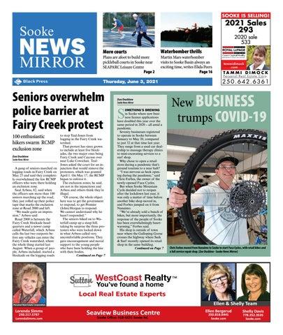 Sooke News Mirror, June 3, 2021