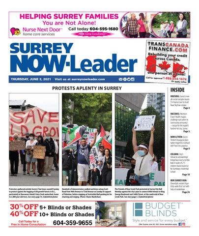 Surrey Now Leader, June 3, 2021