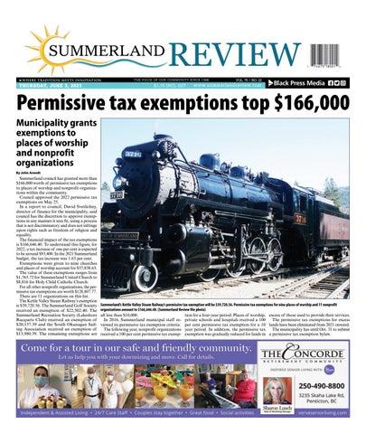 Summerland Review, June 3, 2021