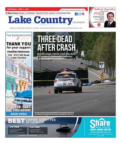 Lake Country Calendar, June 3, 2021