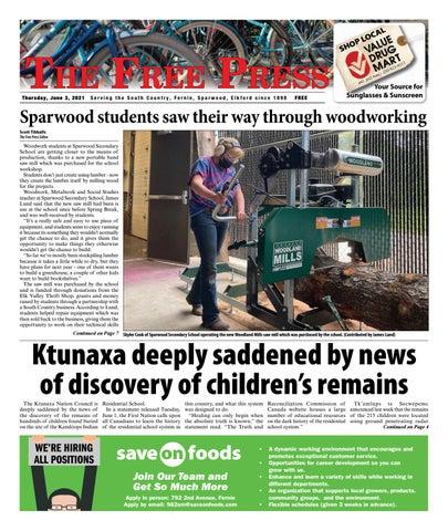 The Free Press, June 3, 2021