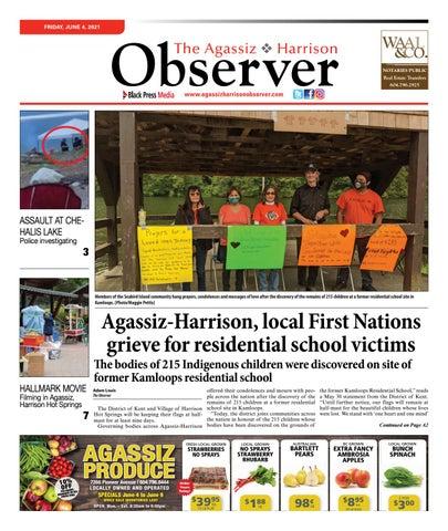 Agassiz Observer, June 4, 2021