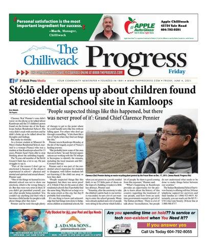 Chilliwack Progress, June 4, 2021