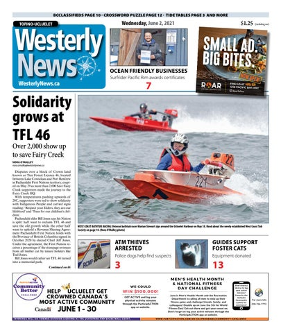 Tofino-Ucluelet Westerly News, June 2, 2021