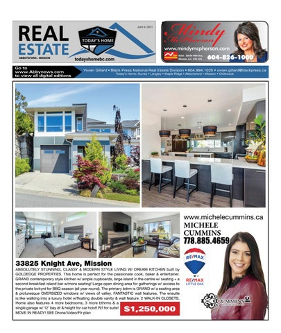 June 04, 2021 Real Estate Weekly - Abbotsford