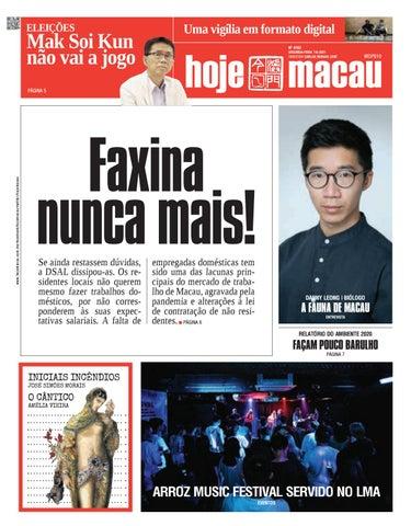 Hoje Macau 7 JUNHO 2021 #4783
