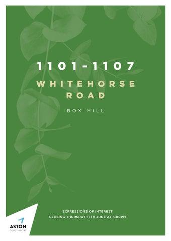 1101-1107 Whitehorse Road, Box Hill
