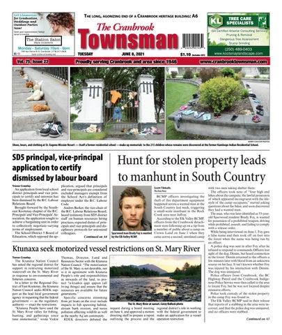 Cranbrook Daily Townsman, June 8, 2021
