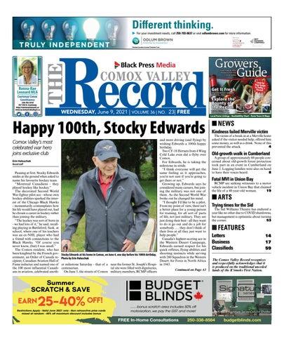 Comox Valley Record, June 9, 2021