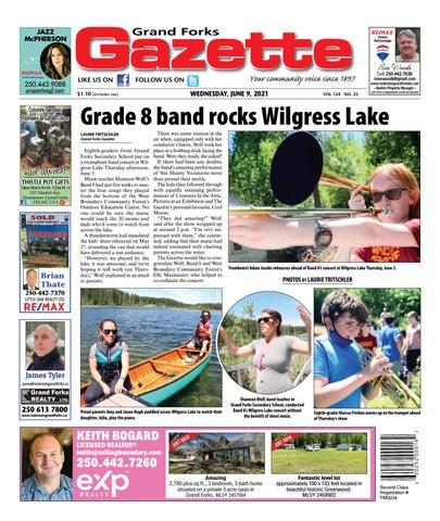 Grand Forks Gazette/West Kootenay Advertiser, June 9, 2021