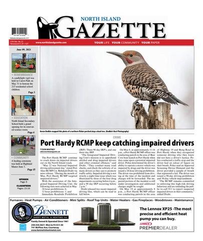 North Island Gazette, June 9, 2021