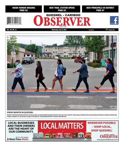 Quesnel Cariboo Observer, June 9, 2021
