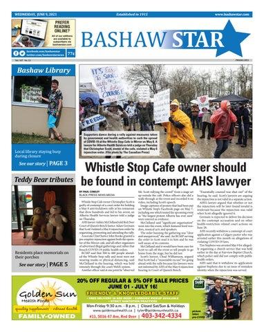 Bashaw Star, June 9, 2021