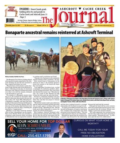 Ashcroft Cache Creek Journal, June 10, 2021