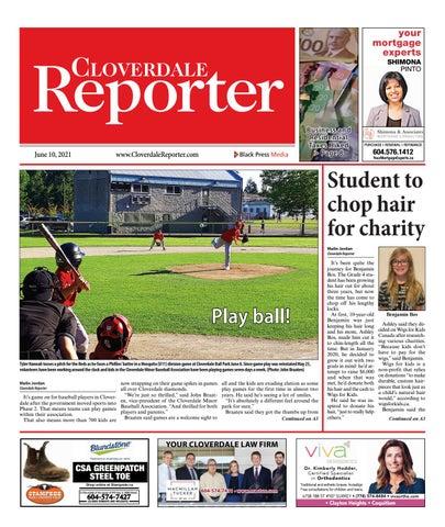 Cloverdale Reporter, June 10, 2021