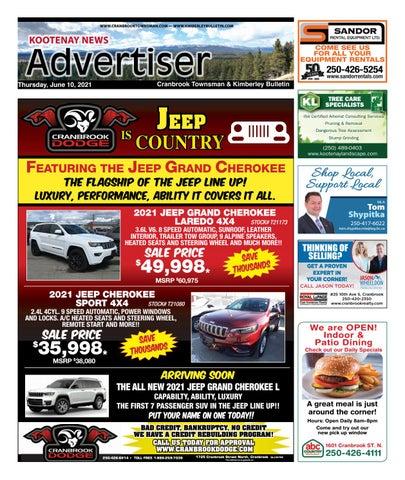 Kimberley Daily Bulletin, June 10, 2021
