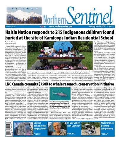 Kitimat Northern Sentinel/Northern Connector, June 10, 2021