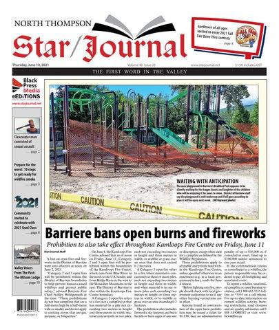 Barriere Star Journal, June 10, 2021