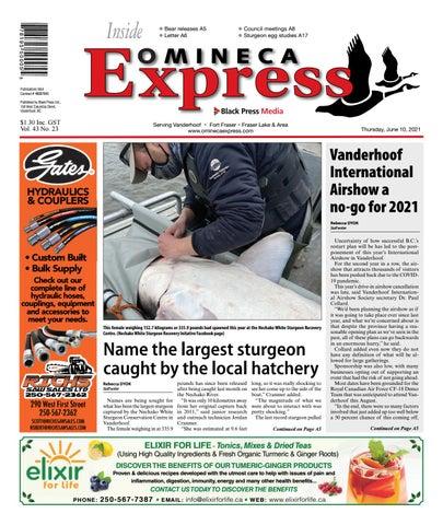 Vanderhoof Omineca Express/Stuart Nechako Advertiser, June 10, 2021