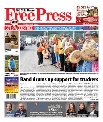 100 Mile House Free Press, June 10, 2021