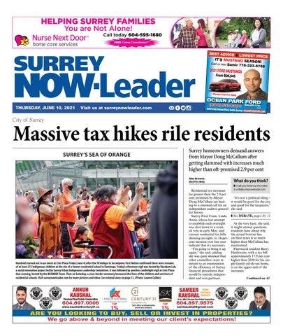 Surrey Now Leader, June 10, 2021