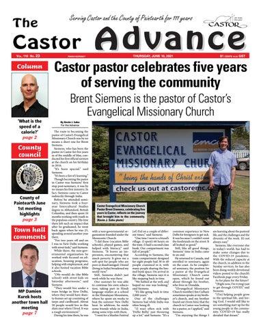 Castor Advance, June 10, 2021