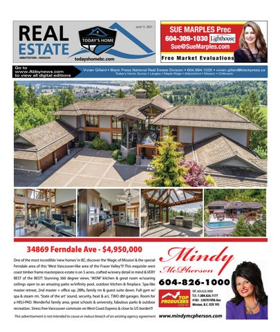 June 11, 2021 Real Estate Weekly - Abbotsford
