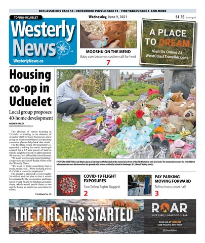 Tofino-Ucluelet Westerly News, June 9, 2021