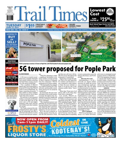 Trail Daily Times/West Kootenay Advertiser, June 15, 2021