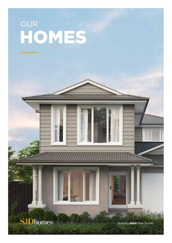 Our Homes - SJD Homes