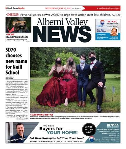 Alberni Valley News, June 16, 2021