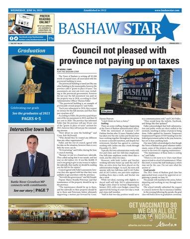 Bashaw Star, June 16, 2021
