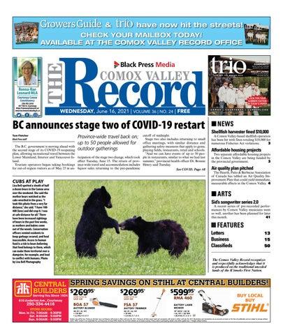 Comox Valley Record, June 16, 2021