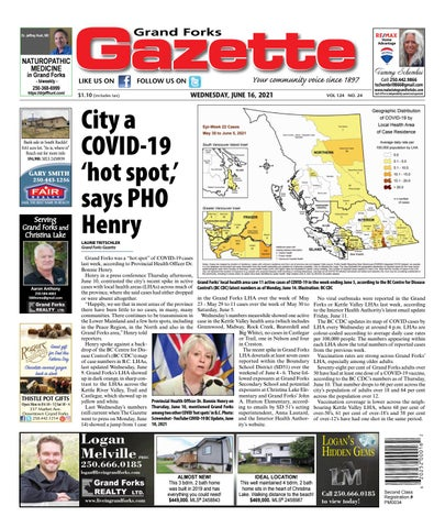 Grand Forks Gazette/West Kootenay Advertiser, June 16, 2021