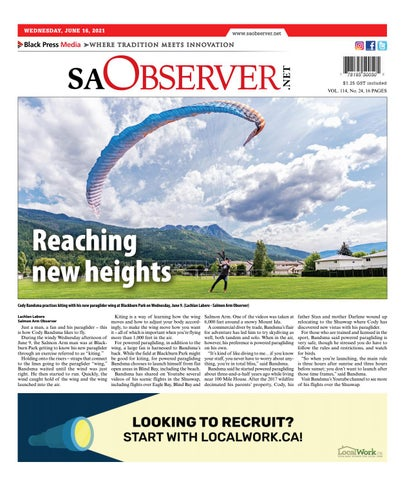 Salmon Arm Observer, June 16, 2021
