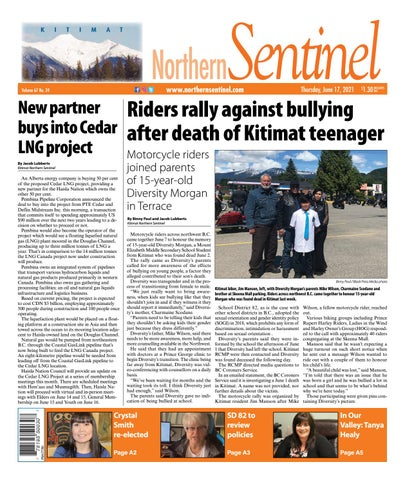 Kitimat Northern Sentinel/Northern Connector, June 17, 2021