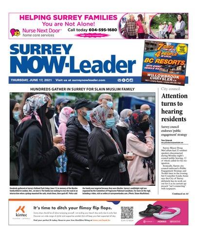 Surrey Now Leader, June 17, 2021