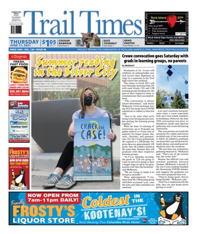 Trail Daily Times/West Kootenay Advertiser, June 17, 2021