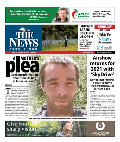 Abbotsford News, June 17, 2021