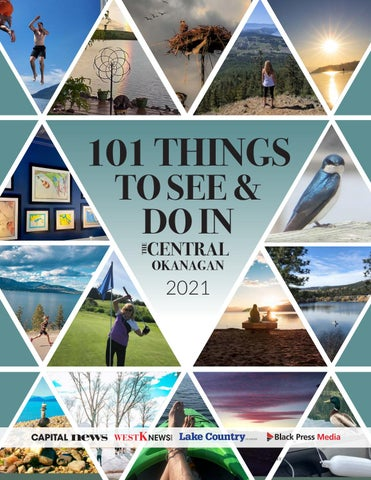 101 Things to see and do - Central Okanagan