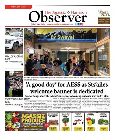 Agassiz Observer, June 18, 2021