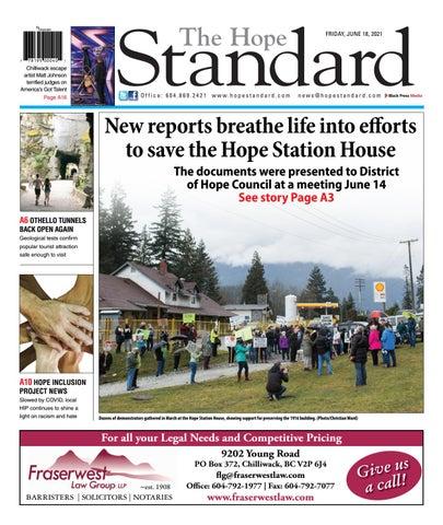 Hope Standard, June 18, 2021