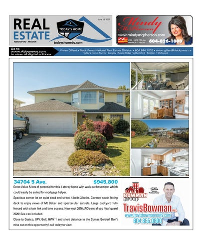 June 18, 2021 Real Estate Weekly - Abbotsford