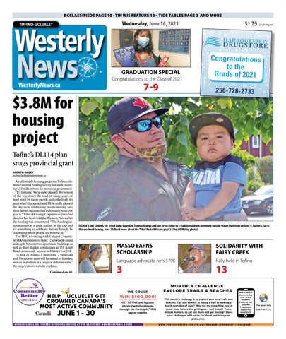 Tofino-Ucluelet Westerly News, June 16, 2021