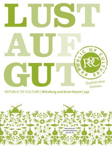 LUST AUF GUT Magazin | Würzburg Nr. 192