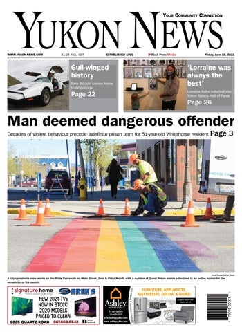 Yukon News, June 18, 2021