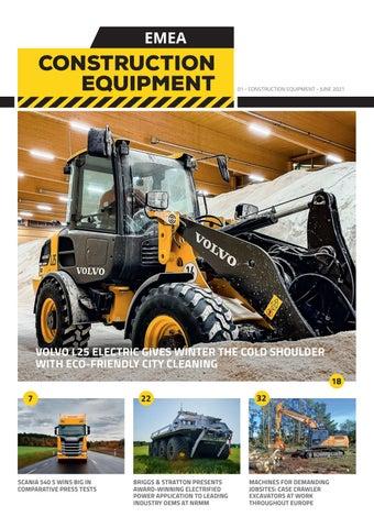 Construction Equipment EMEA   01 - June 2021