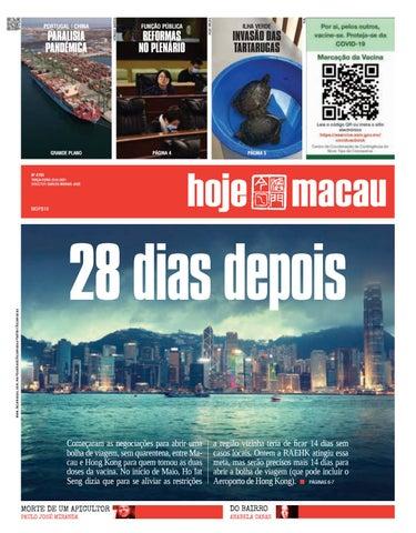 Hoje Macau 22 JUNHO 2021 #4793
