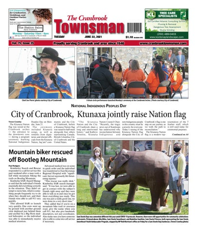 Cranbrook Daily Townsman, June 22, 2021